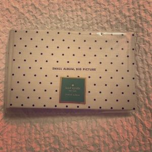NWT kate spade photo album